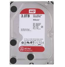 3 To (3000 GB) WD GP 64 Mb WD30EFRX RED SATA3