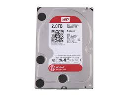 2 To (2000 GB) WD GP 64 Mb WD20EFRX RED SATA3