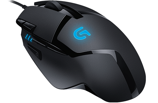 Logitech Souris Fusion G402 Hyperion Fury gaming Mouse