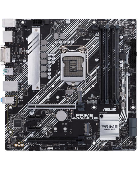 Asus PRIME H470M PLUS 1200 Intel H470 DDR4